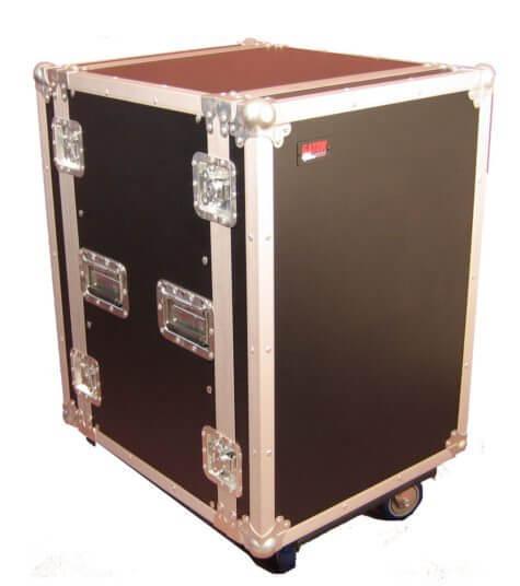 16U, Standard Road Rack Case w/ Casters-G-TOUR 16U CAST