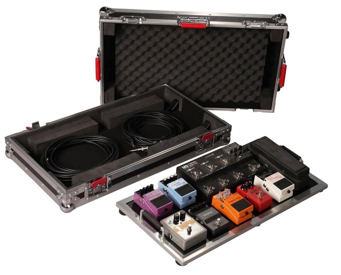 large pedal board w wheels g tour pedalboard lgw gator cases. Black Bedroom Furniture Sets. Home Design Ideas