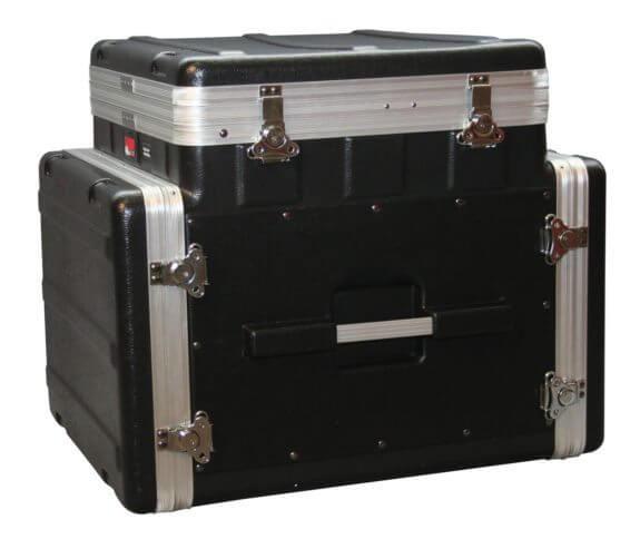 10u top 8u side console rack grc 10x8 pu gator cases for Consul use cases