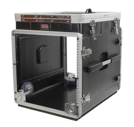 12u top 10u side console rack grc 12x10 pu gator cases for Consul use cases