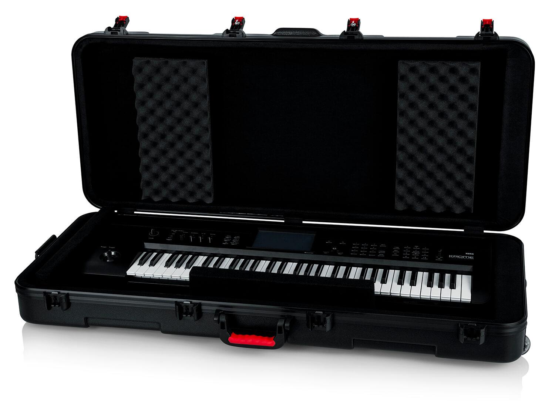 61-note Keyboard Case w/ Wheels-GTSA-KEY61 - Gator Cases