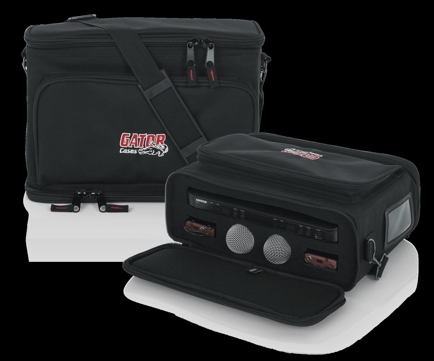 Gator Cases Music Instruments Pro Audio A V Video Utility Fender Super Reverb Speaker Wiring Diagram Releases Bag Designed For Shure Blx Or Similar Wireless Systems